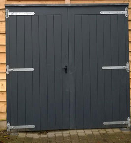 Wooden Garage Doors by Chris Brown Joiners Horndean