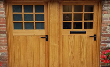 Traditional Timber Wood Doors made by C Brown Joiners Horndean